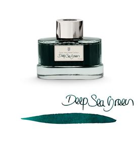 Graf-von-Faber-Castell - Tintenglas Deep Sea Green, 75ml