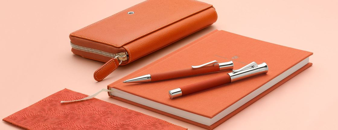 Graf von Faber-Castell - Guilloche burned orange collection